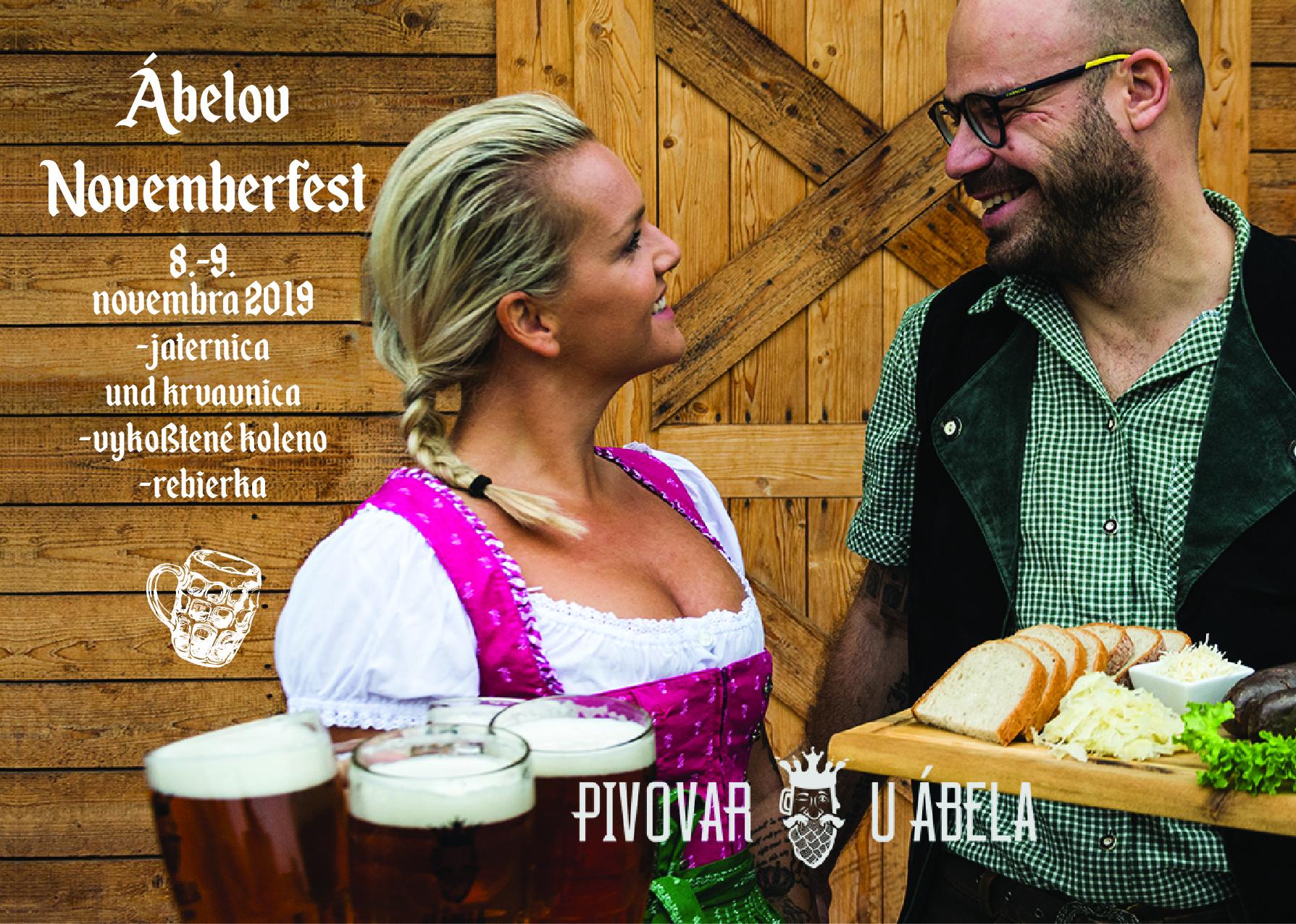 Pivovar U Ábela, Oktoberfest,Novemberfest, kam napivo, craftbeer bratislava