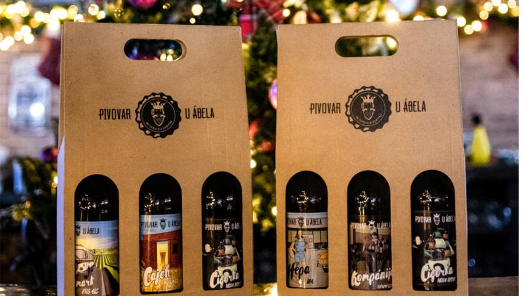 Vianočný darček, Pivovar U Ábela, craft beer, remeselné pivo, pivo Bratislava, darček pre muža