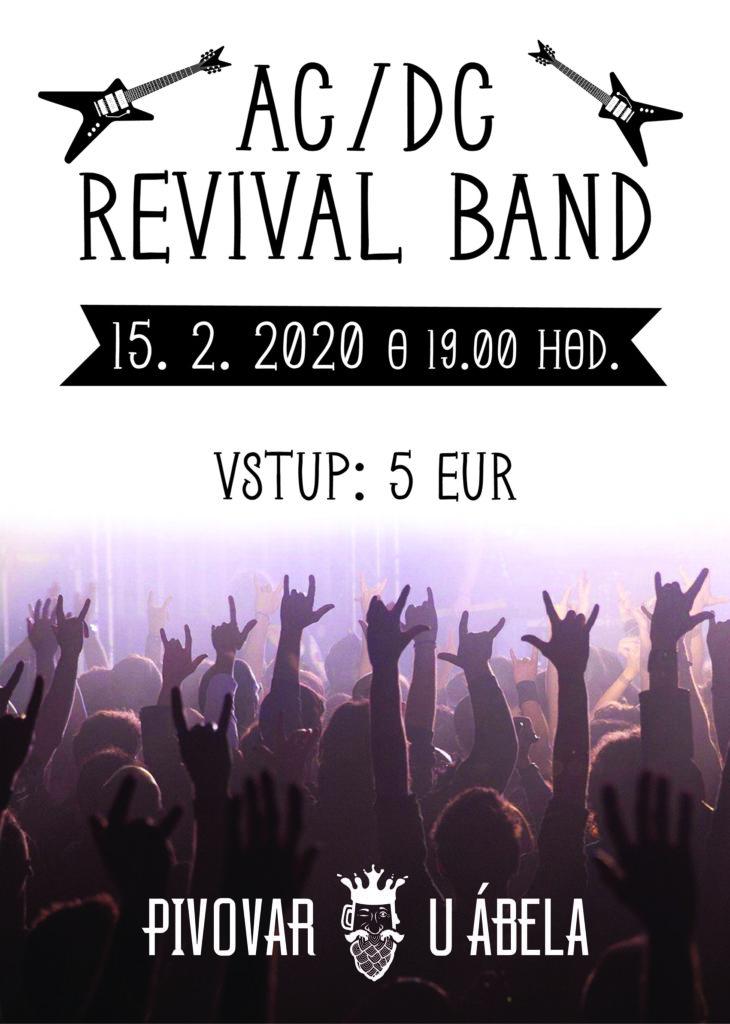 AC/DC live Pivovar U Ábela AC/DC revival live music bratislava rock pub