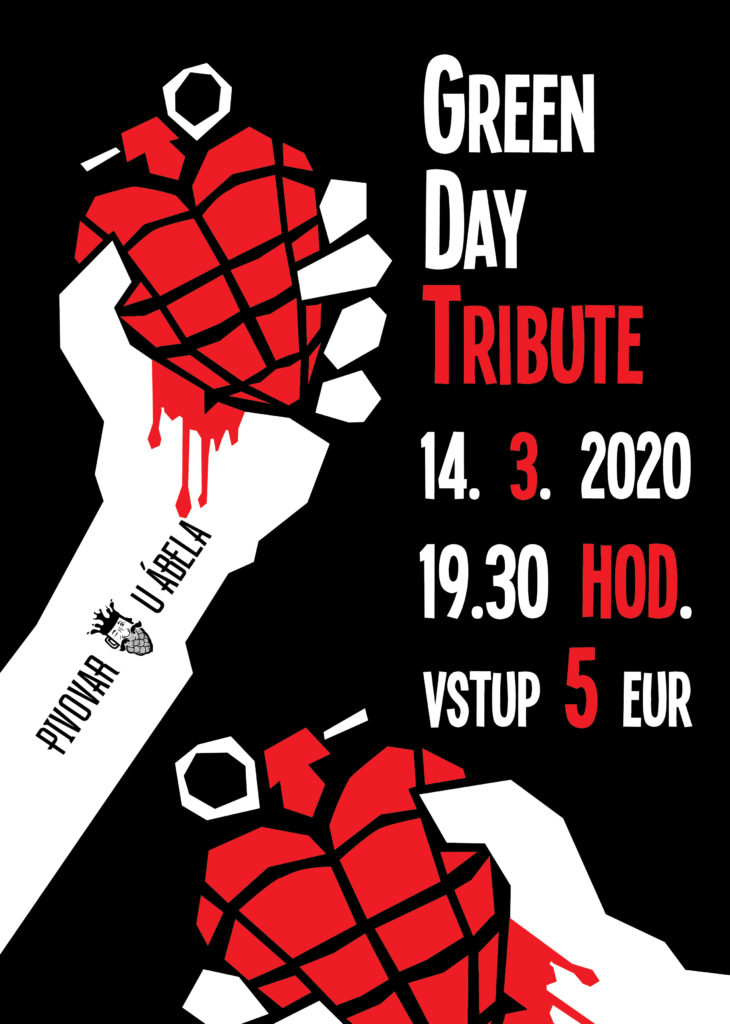 Green day U ábela live music punk pub rock pub beer bratislava