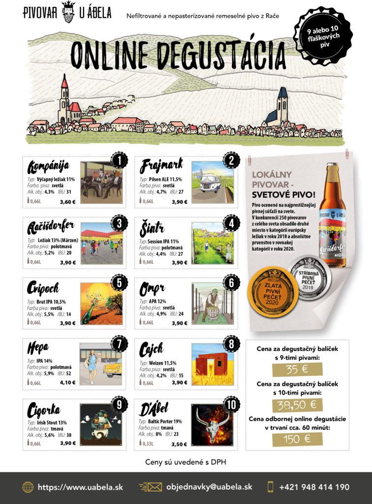 vianočný večierok craftbeer remeselné pivo online degustácia